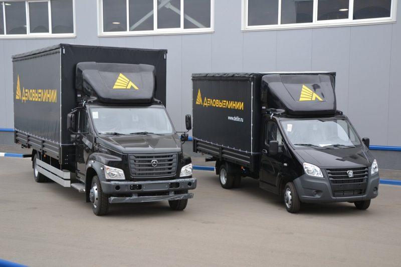 «Деловые Линии» взяли на себя перевозки автотоваров