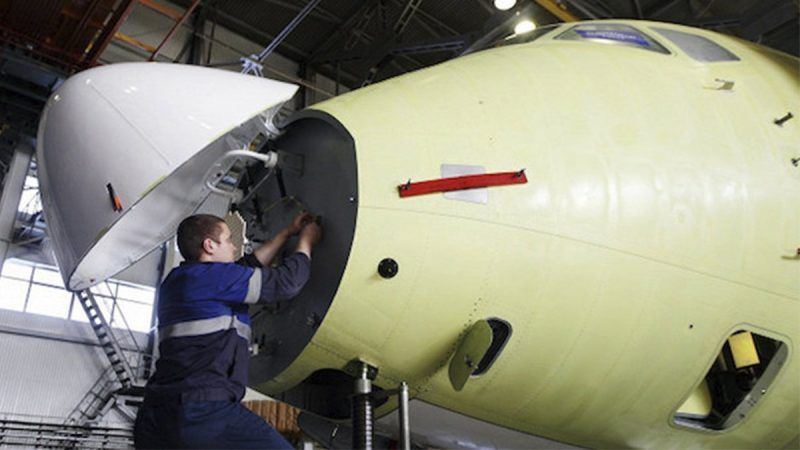 Российский авиапром лишили иностранных комплектующих