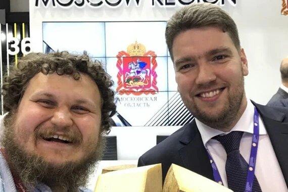 Олег Сирота поздравил Андрея Разина с назначением на пост зампреда правительства Московской области