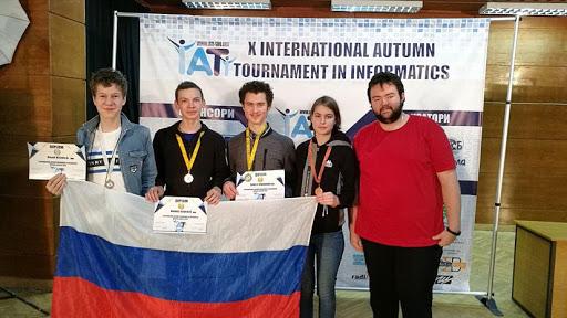 На традиционном осеннем турнире по информатике в Болгарии столичные школьники завоевали пять наград