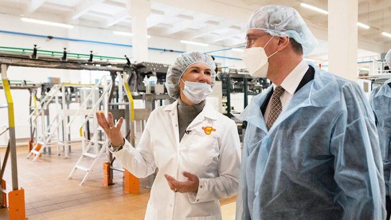 Первая в России IT-платформа для пищевого производства запущена в Калуге