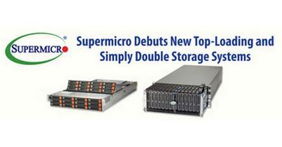 Supermicro запускает новые высокопроизводительные и просто двойные системы хранения данных