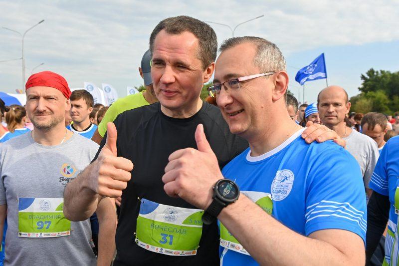 Губернатор Калужской области принял участие в Калужском космическом марафоне